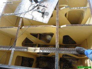 P1040020 300x225 Restauration de la caisse du tender
