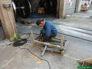 P1040072 300x225 Restauration de la caisse du tender