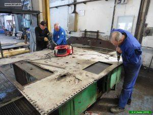 P1040077 300x225 Restauration de la caisse du tender